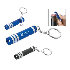 Versa Aluminum LED Key Light With Bottle Opener