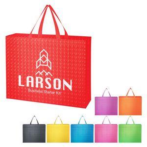Illusion Laminated Non-Woven Tote Bag