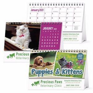 Triumph® Puppies & Kittens Desk Calendar