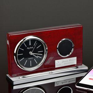 Wireless Speaker Clock with Pen