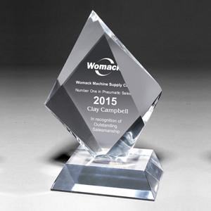 "Screen Printed Medium Summit Award (5""x 8 1/2""x 1 1/4"")"