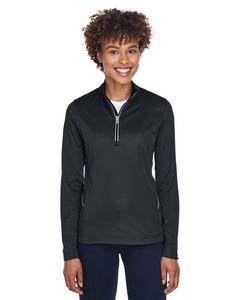 ULTRACLUB Ladies' Cool & Dry Sport Quarter-Zip Pullover