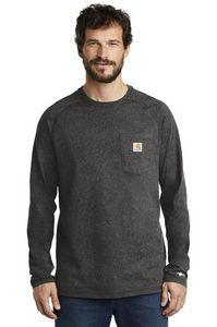 Carhartt Force® Men's Cotton Delmont Long Sleeve T-Shirt