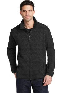 Port Authority® Men's Sweater Fleece Jacket
