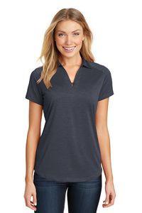 Port Authority® Ladies Digi Heather Performance Polo Shirt