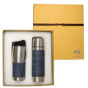 Casablanca™ Thermal Bottle & Tumbler Gift Set