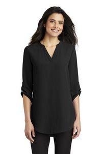 Ladies Port Authority® ¾-Sleeve Tunic Blouse