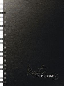 "TexturedMetallic Journals Medium NoteBook (7""x10"")"