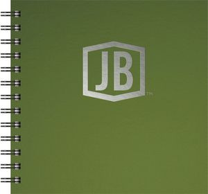 """Deluxe Cover Series 3 Square NoteBook (7""""x7"""")"""