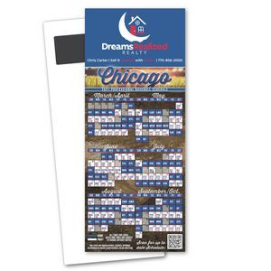 Baseball Schedule Magnetic Stick Up Card
