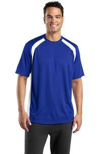 Sport-Tek® Men's Dry Zone® Colorblock Crew Shirt
