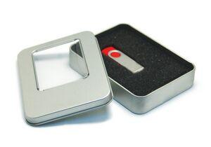Square Metal Tin for USB's