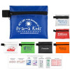 """""""Safety Zip"""" 10 Piece Hand Sanitizer Healthy Living Pack in Zipper Pouch"""