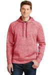 Sport-Tek® Men's PosiCharge® Electric Heather Fleece Hooded Pullover Sweater