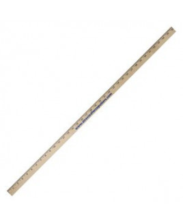Clear Lacquered Yardstick