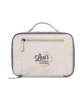 Caden Cotton Lunch Cooler - Natural