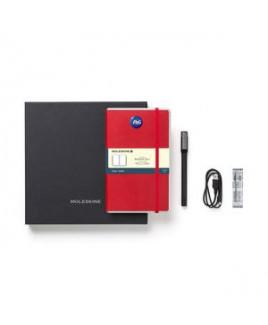 Moleskine® Smart Writing Set Ellipse - Ruled Paper - Scarlet Red