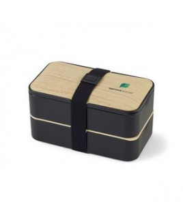 Osaka Bento Lunch Box - Black