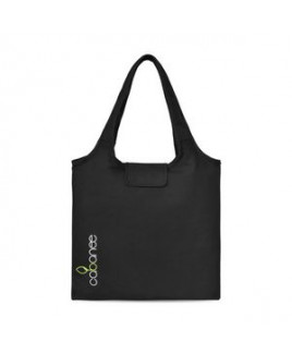 Willow Cotton Packable Tote Black