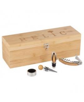 Bamboo Wine Case Set
