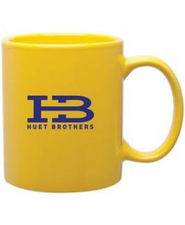 11oz C-Handle Mug (Yellow)
