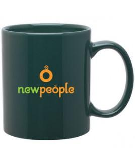 11oz C-Handle Mug (Green)