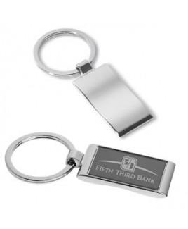"""Isabella"" Laser Engraved Metal Key Holder (Overseas)"