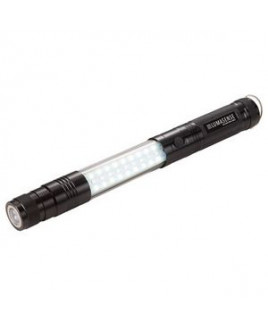 Telescopic Magnetic COB LED Flashlight w/Sidelight
