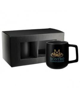 Sienna Ceramic Mug 2 in 1 Gift Set