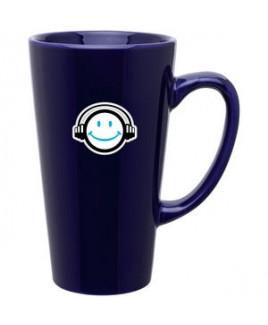 16oz Tall Latte Mug (Cobalt Blue)