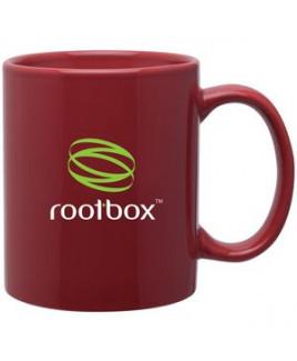 11oz C-Handle Mug (Cardinal)