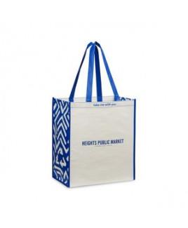 Laminated 100% Recycled Shopper - Royal Blue