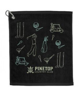 1.3 lb./doz. 18x15in Terry Golf Towel