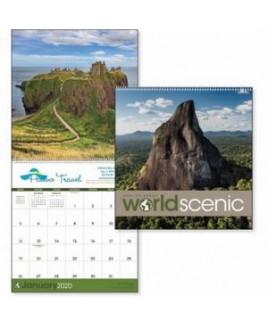 Triumph® World Scenic Executive Calendar