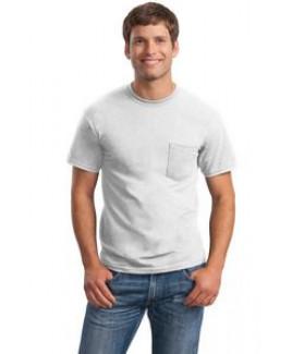 Gildan® Men's Ultra Cotton® 100% Cotton T-Shirt w/Pocket