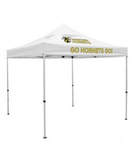 Deluxe 10' Tent, Vented Canopy (Imprinted, 2 Locations)