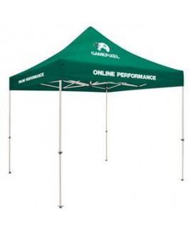 Standard 10' Tent Kit (Full-Color Imprint, 3 Locations)