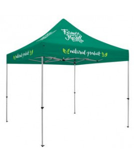 Deluxe 10' Tent Kit (Full-Color Imprint, 5 Locations)