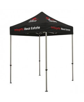 Deluxe 6' Tent Kit (Full-Color Imprint, 6 Locations)