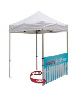 Deluxe 6' Tent Half Wall Kit (Dye-Sublimated, 2-Sided)