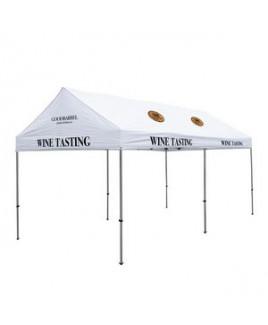 10' x 20' Premium Gable Tent Kit - 11 Location Imprint