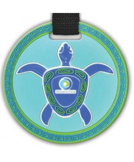 """4 1/2"""" Custom Oversized 2D Bag Tag w/Privacy Flap"""