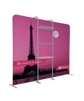 EuroFit Cascade Three-Shelf Merchandiser Kit