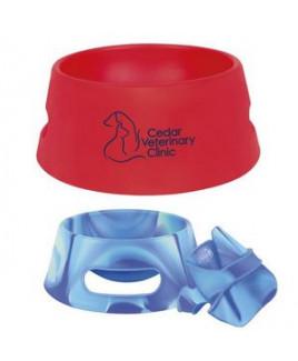 1L Silipint™ Aqua-Fur Dog Bowl