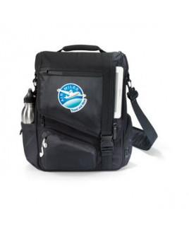 Life in Motion® Momentum Computer Messenger Bag - Black