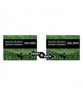 """24"""" x 18"""" Corrugated Plastic Sign (Double-Sided)"""
