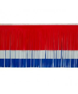 """Victory Corps Standard Red, White & Blue Fringe (15"""")"""