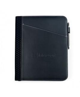 Cedar Leather Padfolio - Black