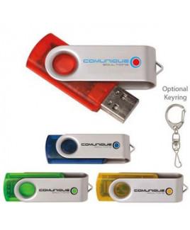 1 GB Universal Source™ Translucent Folding USB 2.0 Flash Drive