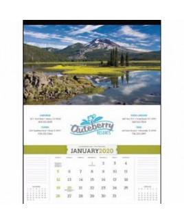 Triumph® American Splendor Calendar w/o Date Blocks